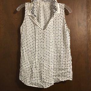 Elie Tahari Nordstrom silk elastane blouse medium